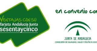 Tarjeta sesentaycinco Junta De Andalucía